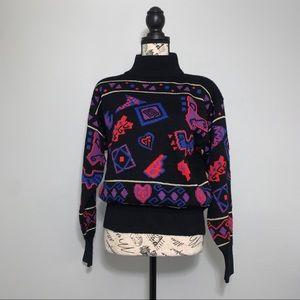 Vintage Nil's Mock-Neck Sweater